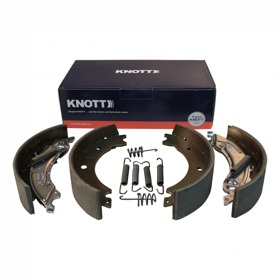 Kit de patins de frein Knott Knott 20-2425/1; 200x50 Spreiz backmatic